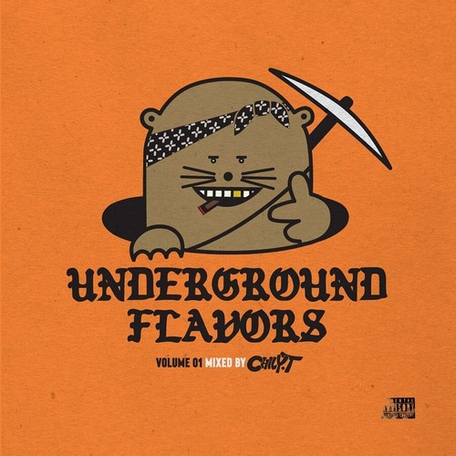 CHILY-T - UNDER GROUND FLAVORS VOL01 - MIX CD