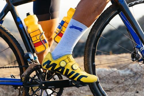 TEAM DREAM BICYCLING TEAM / NEW Heather Supreme Socks (BLUE)