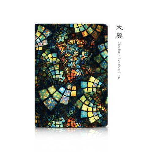 大奥-和風レザーiPadケース
