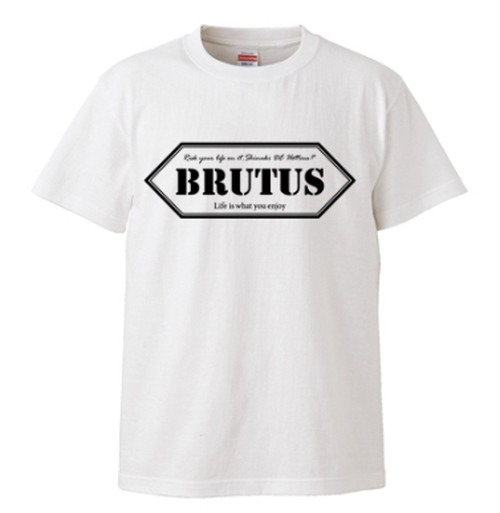 BRUTUS ロゴTシャツ