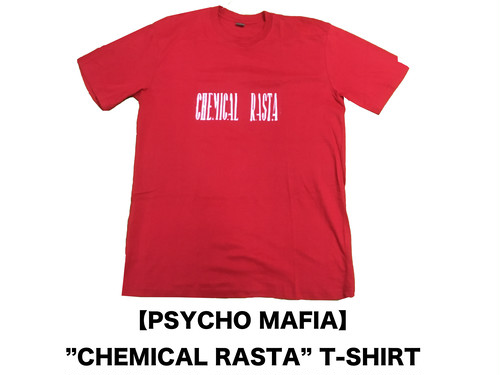 "【PSYCHOMAFIA】T-SHIRT  ""CHEMICAL RASTA"""