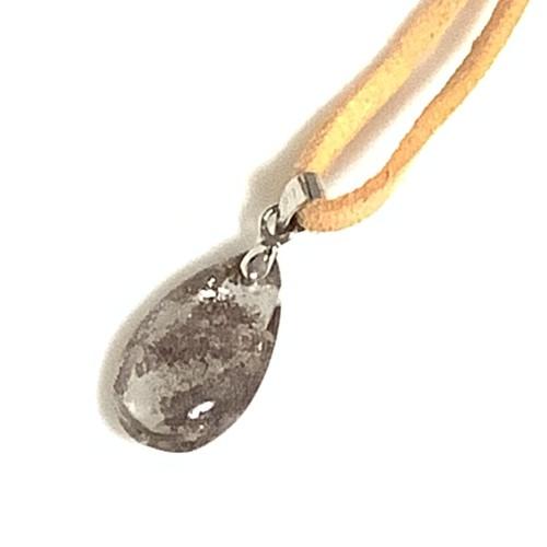 ガーデンクオーツ 天然石 ペンダント〜 土が入っているみたいな様子が不思議な水晶