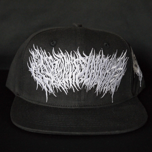 【残りわずか】Gluttonous Slaughter Snapback Black x White