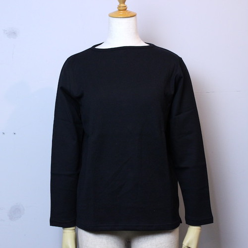 "Tieasy AUTHENTIC CLASSIC(ティージー オーセンティッククラシック) ""TIEASY SUMMER KNIT LONG SLEEVE T-SHIRTS"" te500CRL BLACK"