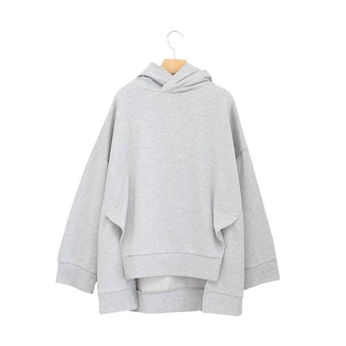 OSMOSIS/裏毛フードプルオーバー【587010-468T】
