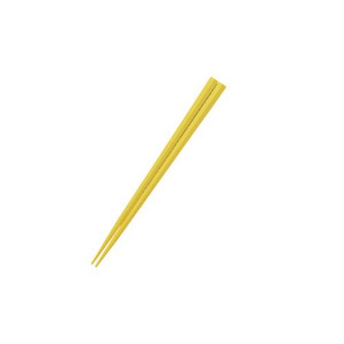 五角形15cmPBT箸  イエロー【OGH-5-YE】