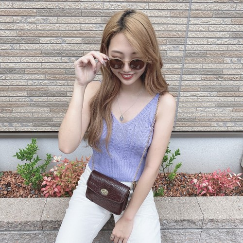 cable knit camisole