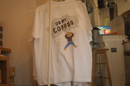 【OH MY COFFEE 】バックプリント Tシャツ