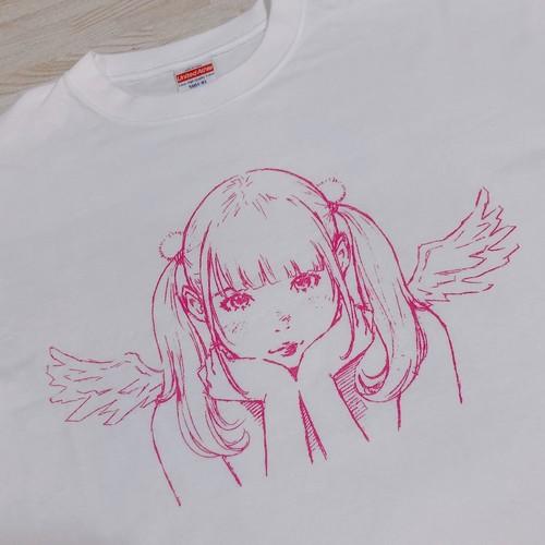窪之内英策先生イラストTシャツ