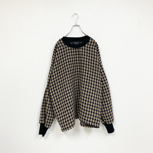 TEXTILE KNIT(BROWN)