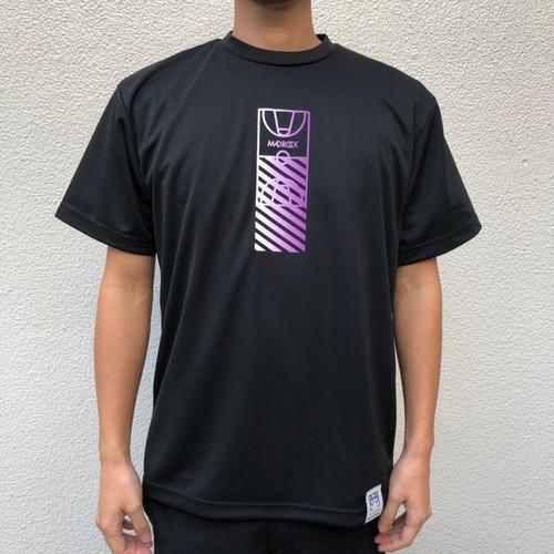 マッドロック / コートグラデーションTシャツ / ドライタイプ / ブラック