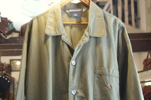 00's Ralph Lauren cotton pajama Shirt
