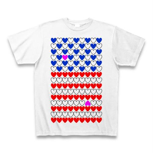 ma-ku room オリジナルTシャツ「よく見るとアメリカ国旗」