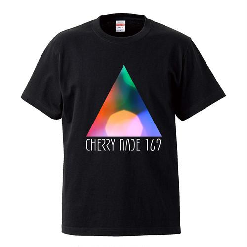 3角ロゴTシャツ (ブラック)