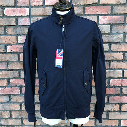 Deadstock Baracuta G9 Four Climes Navy UK36