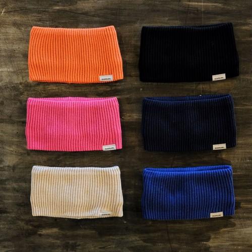 Dralon Rib Knit Hairband【sleepslope】