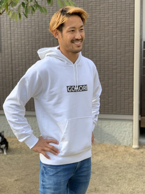 GOMORIパーカー2ndシリーズ(ホワイト)