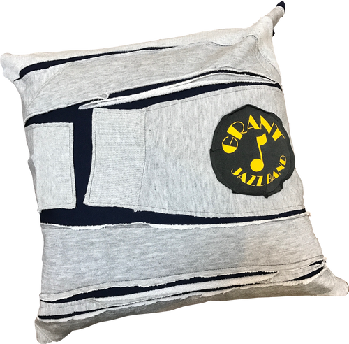 """JAZZ BAND"" CUSHION COVER"