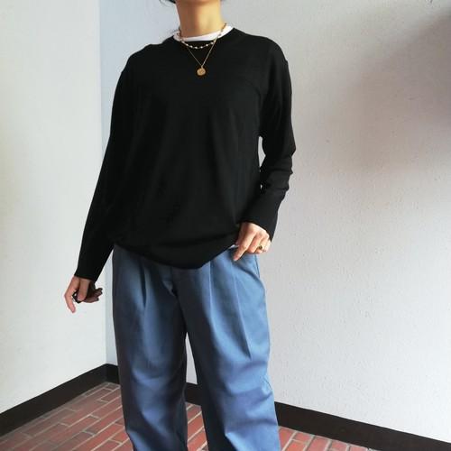 Odour(Ultra Fine Merino Wool クルーネックプルオーバー)