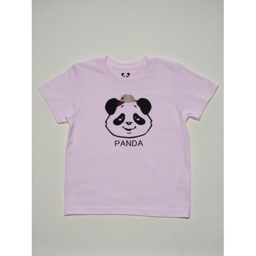 PANDA帽TEE(ピンク)
