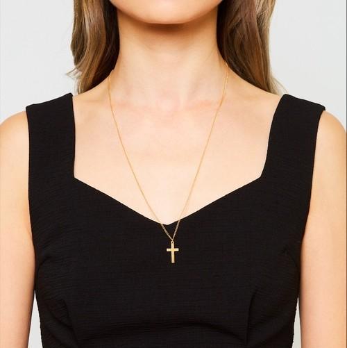 Amelia cross necklace 60