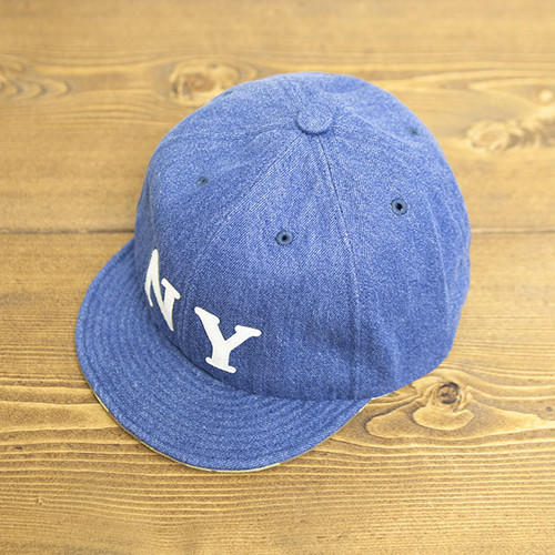 【SOLD OUT】COOCHUCAMP : Happy Cap / NY : Bleach denim