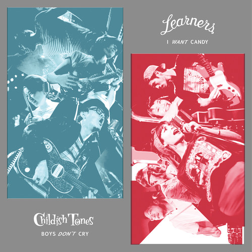 700枚限定 LEARNERS x CHILDISH TONES split 7inch