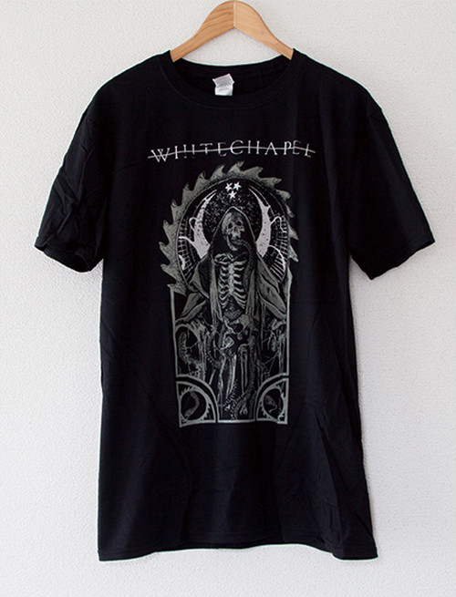 【WHITECHAPEL】Serpent God T-Shirts (Black)