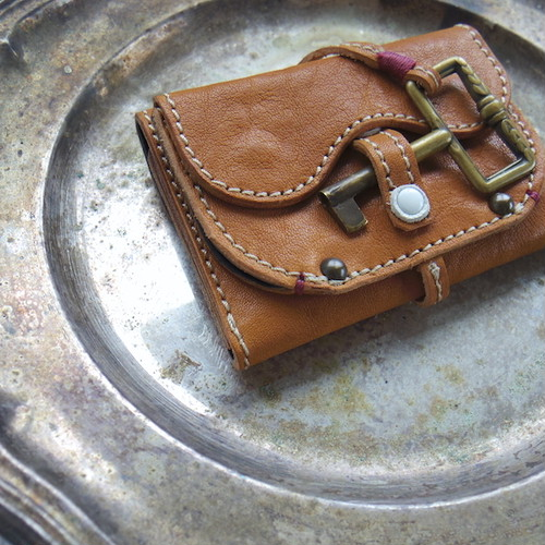 Morfeo - mini wallet / Camel-A