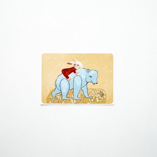 Polar bears smell like vanilla postcard
