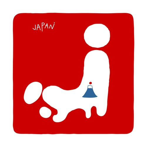 JAPAN プリントTシャツ