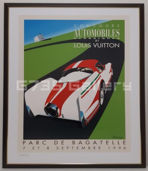 CONCOURS AUTOMOBILES CLASSIQ ET LOUIS VUITTON 1996 PARC DE BAGATELLE