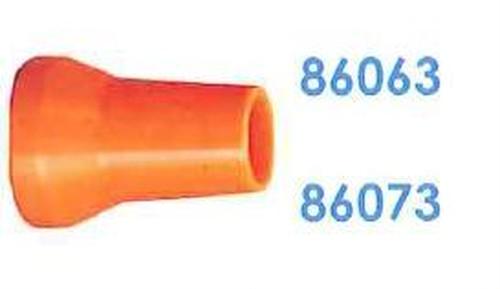 """86063 汎用クーラントホース3/4"""" 5/8"""" 円形ノズル"""