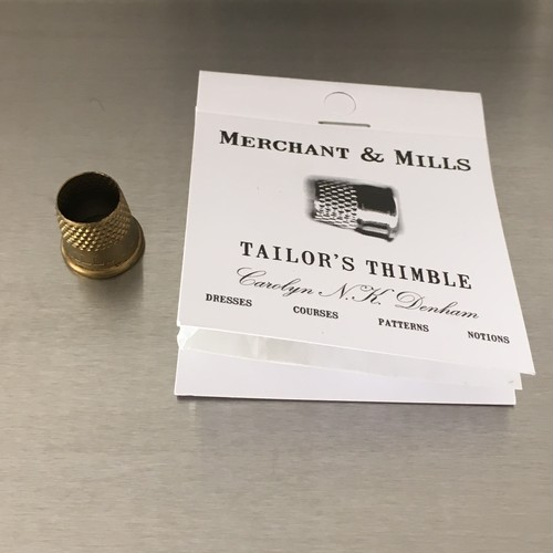 Merchant & Mills / tailor's thimble