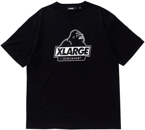 X-LARGE エクストララージ OG STANDARD LOGO PATCH 半袖ロゴ・グラフィックプリントTシャツ 9212854 [並行輸入品]