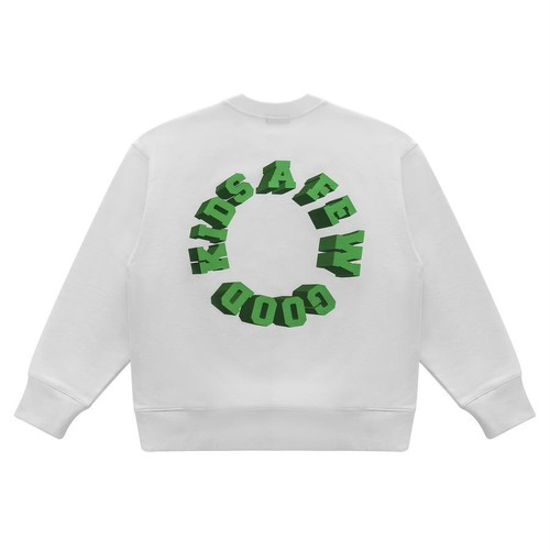 A FEW GOOD KIDS 3D Logo Sweat Shirts WHITE