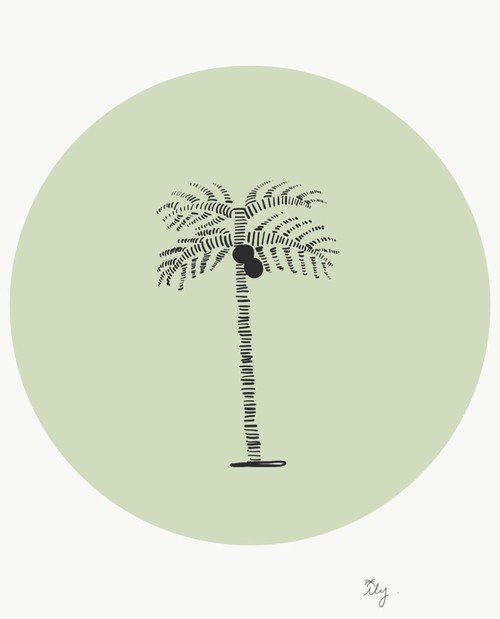 [ily drawing]Simple Palm Tree
