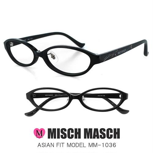 MISCH MASCH レディース 眼鏡 mm-1036-1 CanCam Rayなどの人気ブランド ミッシュマッシュ メガネ [ レディース 女性用 ]