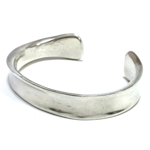 Navajo Vintage Sterling Silver Bangle by Cody Sanderson