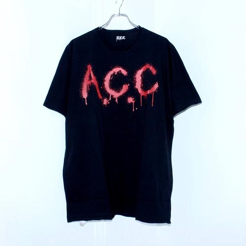 【A.C.C】DOLMAN TEE (BLACK)