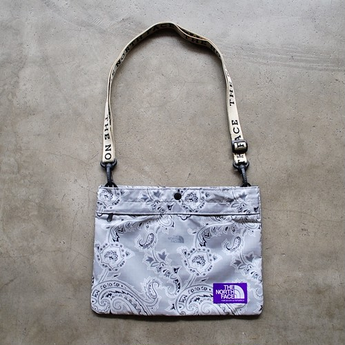 THE NORTH FACE PURPLE LABEL Paisley Print Logo Tape Lightweight Shoulder Bag
