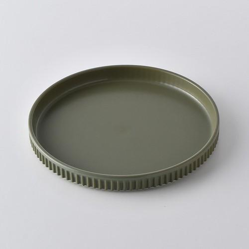 ギア お皿(大)(抹茶色)