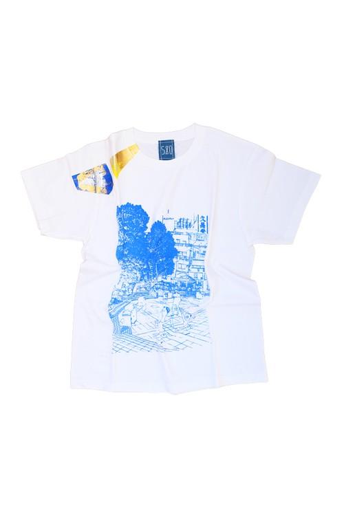 NO.580 町田カリオン広場のTシャツ【東京都】【Mサイズ】
