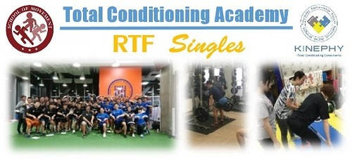 Phase 1 Session 2 - Resistance Training Fundamentals Singles 東京