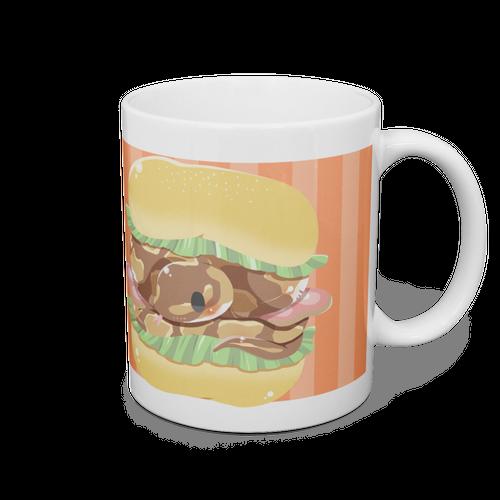 【マグカップ】ニシキヘビバーガー