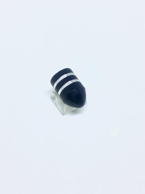 Aluminum Valve Stripe Black