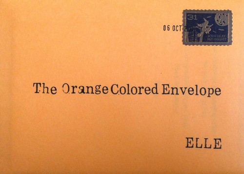 The Orange Colored Envelope