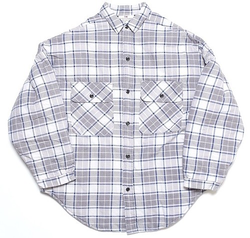 MARVEL BIG SHIRTS W/QUILT - BLUE CHECK