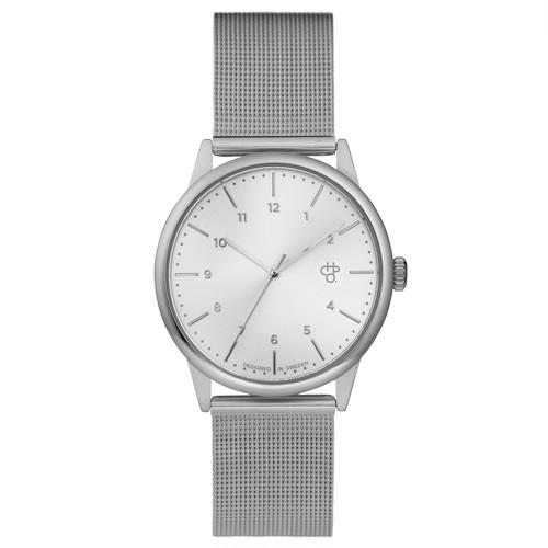 RAWIYA SILVER【CHPO】 Silver metal dial. Metal mesh wristband