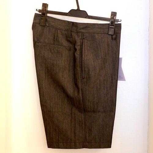 Chambray Shorts Black
